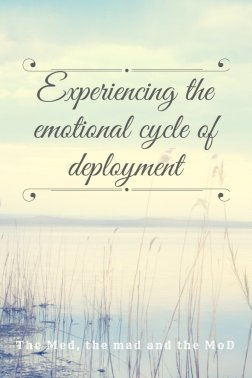 Experiencing the emotional cycle of deployment